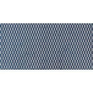 Indigo Ottoman Textile 1 Marble Tiles 7x14