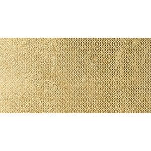 Gold Ottoman Textile 2 Marble Tiles 7x14