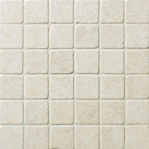 Seashell Tumbled 2x2 Limestone Mosaics 30,5x30,5