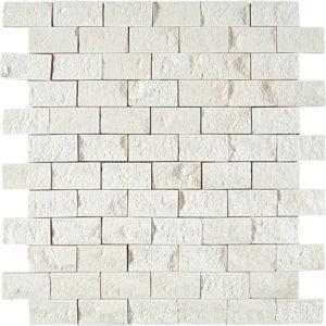 Champagne Rock Face 2,5x5 Limestone Mosaics 32x32