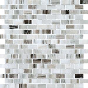 Verona Polished 5/8x1 1/4 Marble Mosaics 30,5x30,5