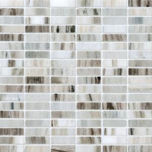 Verona Polished 5/8x2 Marble Mosaics 30,5x30,5