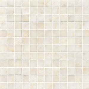 Afyon Sugar Polished 2,3x2,3 Marble Mosaics 30,5x30,5