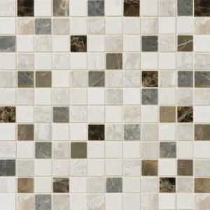Florence Honed 2,3x2,3 Marble Mosaics 30,5x30,5