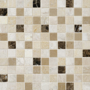 Venezia Honed 2,3x2,3 Marble Mosaics 30,5x30,5