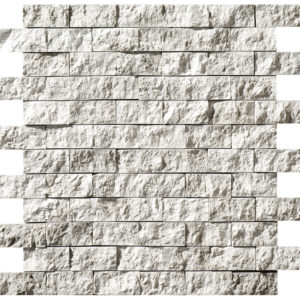 Silver Shadow Rock Face 2,5x5 Marble Mosaics 32x32