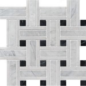 Avenza Honed Lattice Marble Mosaics 30,5x30,5