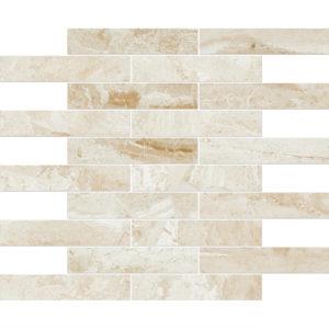 Diana Royal Polished 3x15,2 Marble Mosaics 30,5x30,5
