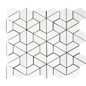 Champagne Textured 3d Hexagon Marble Mosaics 26,5x31