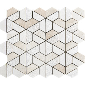 Diana Royal Textured Hexagon Marble Mosaics 26,5x31