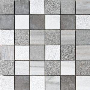 Skyline&bosphorus Textured 2x2 Marble Mosaics 30,5x30,5
