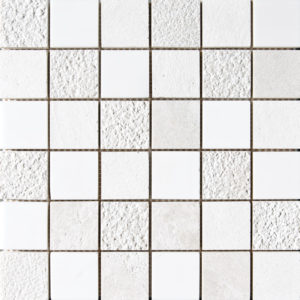 Snow White&champagne&diana Royal Textured 5x5 Marble Mosaics 30,5x30,5