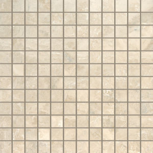 Cappuccino Polished 1x1 Marble Mosaics 30,5x30,5