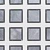 Snow White, Black, Allure Polished Cambridge Marble Mosaics 32,7x32,7