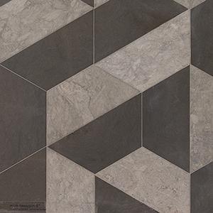Britannia, Bosphorus Honed Mcm Hexagon 8 Marble Mosaics 20