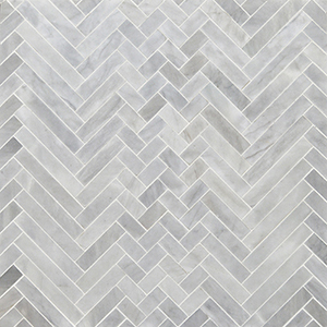 Avenza Honed Mixed Herringbone Marble Mosaics 41,4x30,7