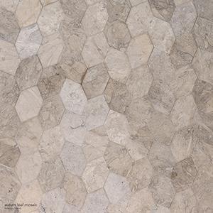 Britannia Honed Autumn Leaf Limestone Mosaics 30x34,5