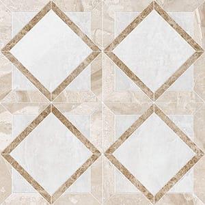 Iceberg, Diana Royal, Paradise Polished Kent Marble Mosaics 33,60x33,60