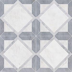 Iceberg, Avenza, Allure Multi Finish Kent Marble Mosaics 33,60x33,60