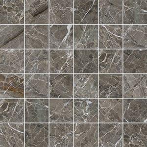 Arctic Gray Polished 5x5 Marble Mosaics 30,5x30,5