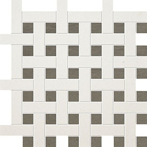 Champagne, Bosphorus Honed Basket Weave 1x3 Limestone Mosaics 32x32