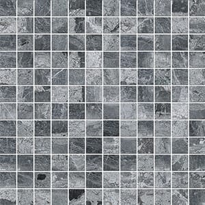 Haisa Black Polished 2,3x2,3 Marble Mosaics 30,5x30,5