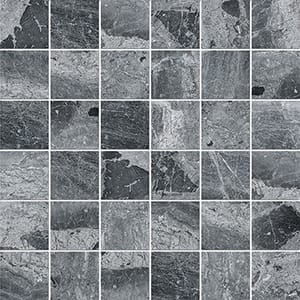 Haisa Black Polished 5x5 Marble Mosaics 30,5x30,5