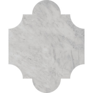 Avenza Honed San Felipe Marble Waterjet Decos 20x24,77