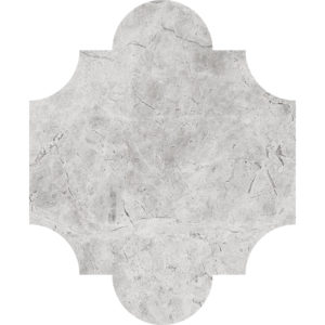 Silver Shadow Honed San Felipe Marble Waterjet Decos 20x24,77