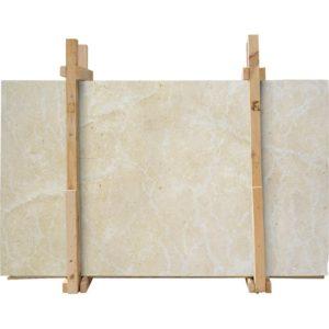 Seashell Honed Limestone Slab Custom