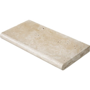 Ivory Tumbled Pool Coping Travertine Pool Copings 30,5x61