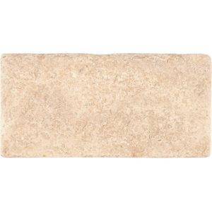 Seashell Tumbled Limestone Tiles 7,6x15,2
