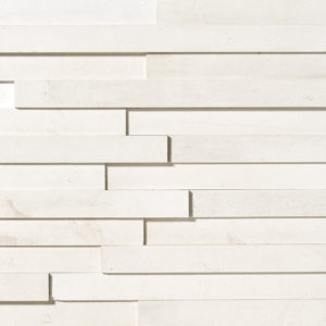 Champagne Honed Limestone Wall Decos Elevations Pattern