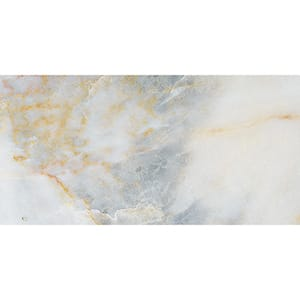 Calacatta Fusion Polished Marble Tiles 7x14