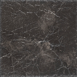 Iris Black Brushed Marble Tiles 20x20