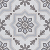 Brown, Light Brown, Beige, Gray Polished Bel Canto Cement Tiles 20x20
