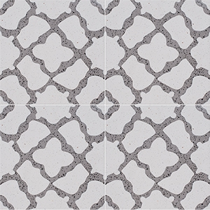 Brown, Light Brown Polished Capella Cement Tiles 20x20