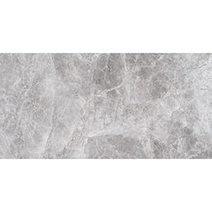 New Silver Shadow Honed Marble Tiles 30,5x61