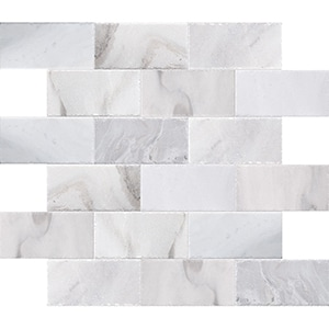 Skyline Cross Cut Brushed Marble Pavers 15,2x30,5