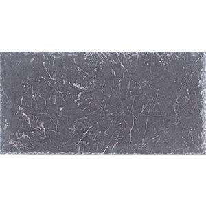 Iris Black Brushed Marble Pavers 15,2x30,5