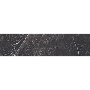 Iris Black Honed Marble Tiles 7,5x30,5