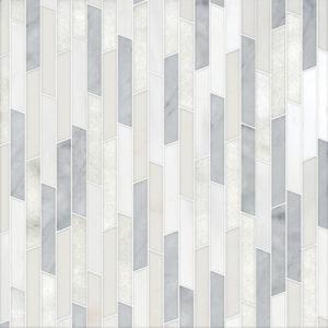 Afyon White, Avenza Light, Dolomite, Gla Multi Finish Rhodes Marble Waterjet Decos 22,38x36,35