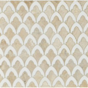 Diana Royal, Dolomite Multi Finish Sophia Marble Waterjet Decos 22,32x34,22