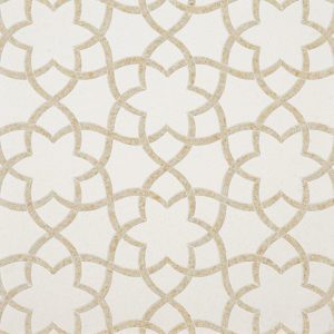 Champagne, Seashell Multi Finish Isidore Limestone Waterjet Decos 31,68x36,56