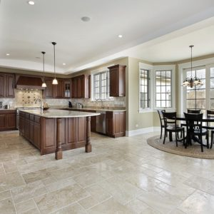 Ivory Travertine Collection