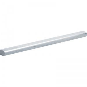 Neptune White Honed Pencil Liner Marble Moldings 1,2x30,5
