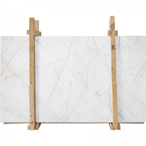 Fantasy White Marble Slab Custom