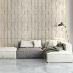 Diana Royal Honed Marble Wall Decos Mini Elevations Pattern