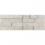 Silver Shadow Honed Marble  Wall Decos Mini Elevations Pattern