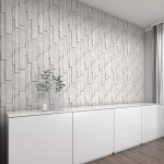 Silver Shadow Honed Marble  Wall Decos New Elevations Pattern